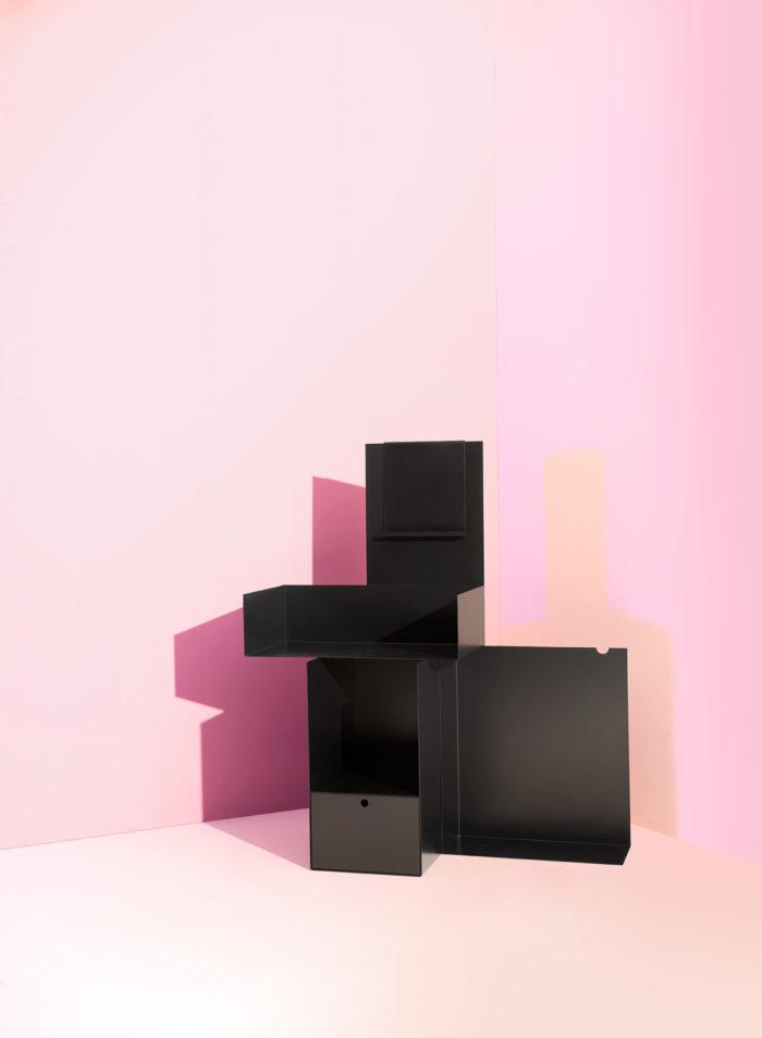 Extoworld, Display cabinet for a collector, design, Andrea Morgante, Shiro Studio