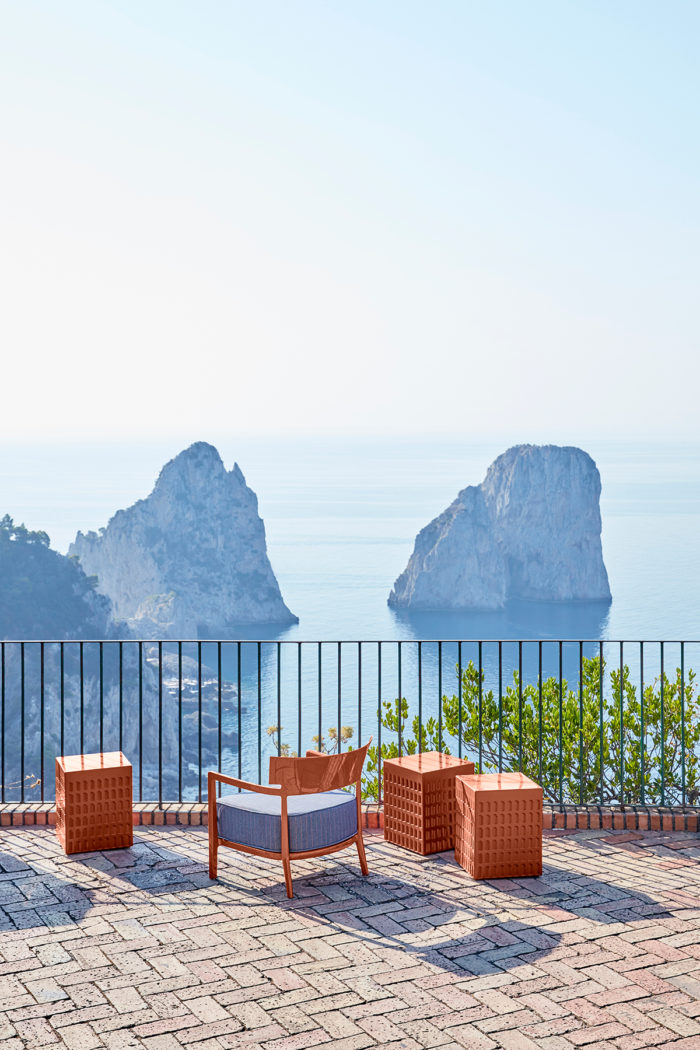 Kartell, design, Italia, Capri, Componibile Anna Castelli Ferrieri, bioplastica