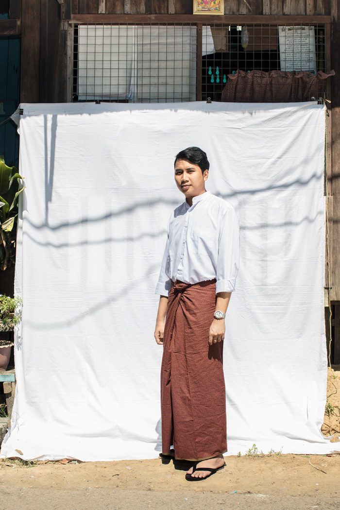 Longy love, Myanmar, street, dress, past