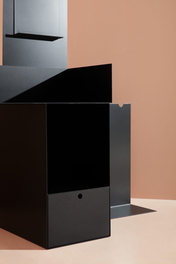 Extoworld, Display cabinet for a collector, design, Andrea Morgante, Shiro Studio